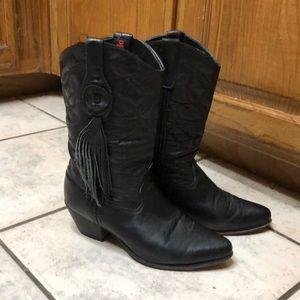 Laredo fringe boots
